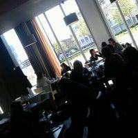 Photo taken at Café Gauchet by Nick S. on 4/5/2012