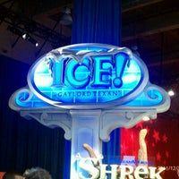 Photo taken at ICE! & SNOW Tubing - Gaylord Texan by Rebecca R. on 12/31/2011