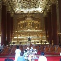 Photo taken at Wat Debsirin by Phu Y. on 9/1/2012