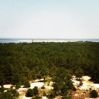 Photo taken at Cape Henlopen Bike Trail by Stewi D. on 7/4/2012