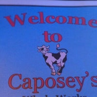 Photo taken at Caposey's Whole Works by Dan S. on 11/2/2011