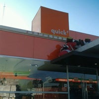 Photo taken at quick! food & more by Carlos d. on 12/23/2011