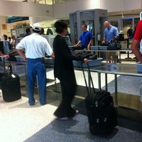 Photo taken at Terminal C Security Checkpoint by Allen A. on 6/12/2011
