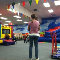 Photo taken at Bounce Realm by Nancy k. on 1/21/2012