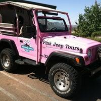 Photo taken at Pink Jeep Tours Sedona, AZ by Loren W. on 6/17/2012