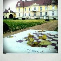 Photo taken at Parc départemental de Lacroix-Laval by oliv' M. on 12/4/2011