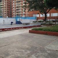 Photo taken at Plaza de los liceos by Jose G. on 12/27/2011