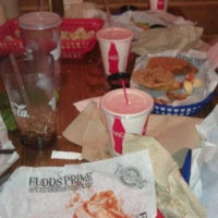 Photo taken at Fuddruckers by Mike S. on 11/27/2011