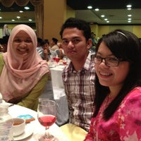 Photo taken at Dewan Merak Kayangan by An R. on 4/28/2012