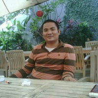 Photo taken at Halte TransJakarta Bermis by Sandro T. on 12/24/2011
