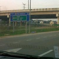 Photo taken at Exit 1404A/B/C Pandan Interchange by Hasliza on 1/19/2012