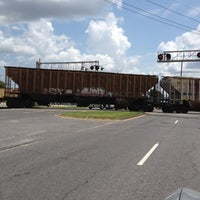 Photo taken at The Chalmette Train Tracks by Scott O. on 8/13/2012