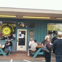 Photo taken at Sunflower Natural Foods Drive-In by Alex G. on 3/24/2012