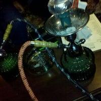 Photo taken at X-Hale Hookah Lounge by Emily B. on 9/17/2011