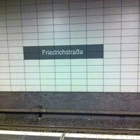 Photo taken at Berlin Friedrichstraße Railway Station by Janni on 6/1/2011