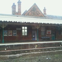 Photo taken at Bury St Edmunds Railway Station (BSE) by Phil W. on 9/10/2011