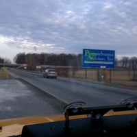 Photo taken at Mason-Dixon Line by Andrew O. on 1/4/2012