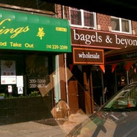 Photo taken at Bagels and Beyond by Harry H. on 10/28/2011