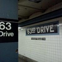 Photo taken at Queens Blvd by Trevor L. on 5/9/2011