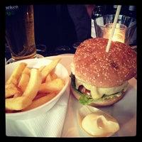Photo taken at Grand Café Heineken Hoek by Roeland v. on 8/26/2012