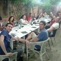 Photo taken at Pati de Pals by Xavi A. on 6/23/2012