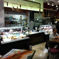 Photo taken at Norcino Salumeria at The Market by Bruce S. on 11/12/2011
