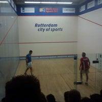 Photo taken at Squashcentrum Victoria by Didier D. on 10/30/2011