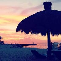 Photo taken at El Cozumeleño Beach Resort by Lauren A. on 12/27/2011
