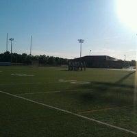 Photo taken at Allen High School Track Field by Jon M. on 4/5/2012