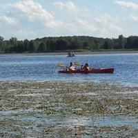 Photo taken at Stony Creek Kayak/Canoe Rental by Casey M. on 8/21/2011