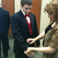 Photo taken at Al's Formal Wear by Mary E. on 6/17/2011