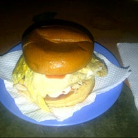 Photo taken at Burger De Nusa by MR|Wiwie on 7/7/2012