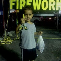 Photo taken at Galaxy Fireworks by Phillip N. on 12/31/2011