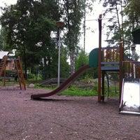 Photo taken at Koivikkopuiston leikkialue by Janne S. on 7/19/2011