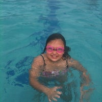 Photo taken at Munster Community Pool by Jessica S. on 6/3/2012