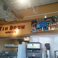 Photo taken at Tin Drum Asian Kitchen - The Collection at Forsyth by Vishi G. on 2/4/2012