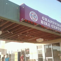 Photo taken at Grapevine Bike Center by ELOY P. on 11/10/2011