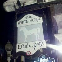 Photo taken at White Horse Tavern & Restaurant by C J. on 1/27/2012