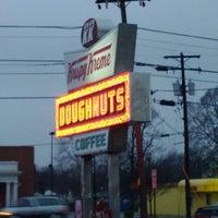 Photo taken at Krispy Kreme Doughnuts by Brian M. on 1/8/2012