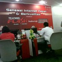 Photo taken at Grapari Telkomsel by David L. on 7/26/2012