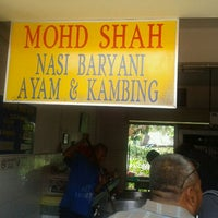 Photo taken at Nasi Baryani Mohd Shah by Kamarudin K. on 10/15/2011