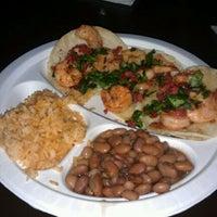 Photo taken at Dia De Los Tacos Cart by Jenn P. on 2/22/2012