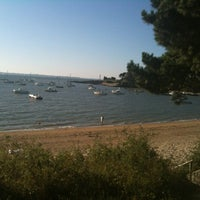 Photo taken at Plages by Mickael on 8/10/2012