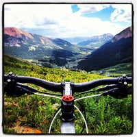 Photo taken at Crested Butte, CO by Dan S. on 7/22/2012