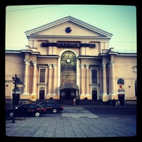 Photo taken at Vilnius Train Station by T B. on 4/24/2012