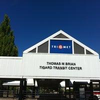 Photo taken at TriMet Tigard Transit Center by Alexander on 6/27/2012
