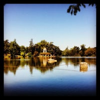 Photo taken at Lac Daumesnil by Quentin L. on 8/20/2012