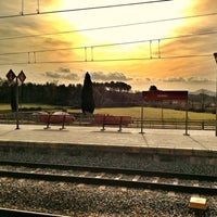 Photo taken at RENFE Cardedeu by Istar T. on 1/22/2012