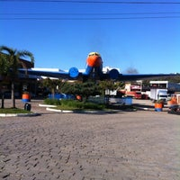 Photo taken at Posto do Avião by Rafael C. on 7/27/2012