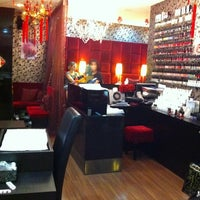 Photo taken at Lush Nails by Anna W. on 1/30/2012